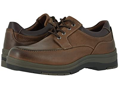 Johnston & Murphy Cahill Moc Lace-Up (Brown Oiled Waterproof Tumbled Full Grain) Men