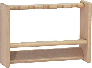 Wooden Mallet 5, Unfinished Pool Cue Rack,