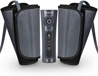 CINCOM Leg Massager for Circulation Air Compression Calf Wraps with 2 Modes 3 Intensities and Helpful for RLS and Edema