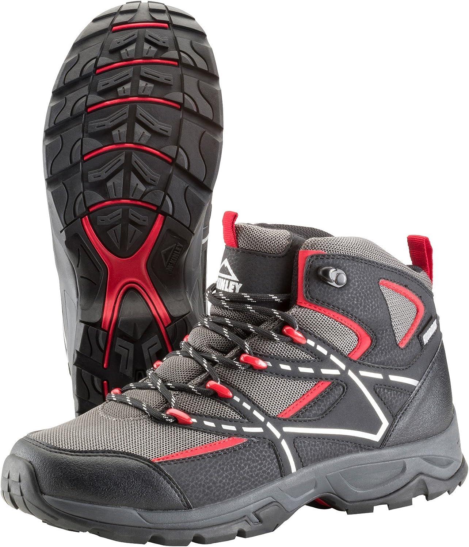 Trek-Schuh Nubash Mid Aqx M - schw grau rot  | Das hochwertigste Material