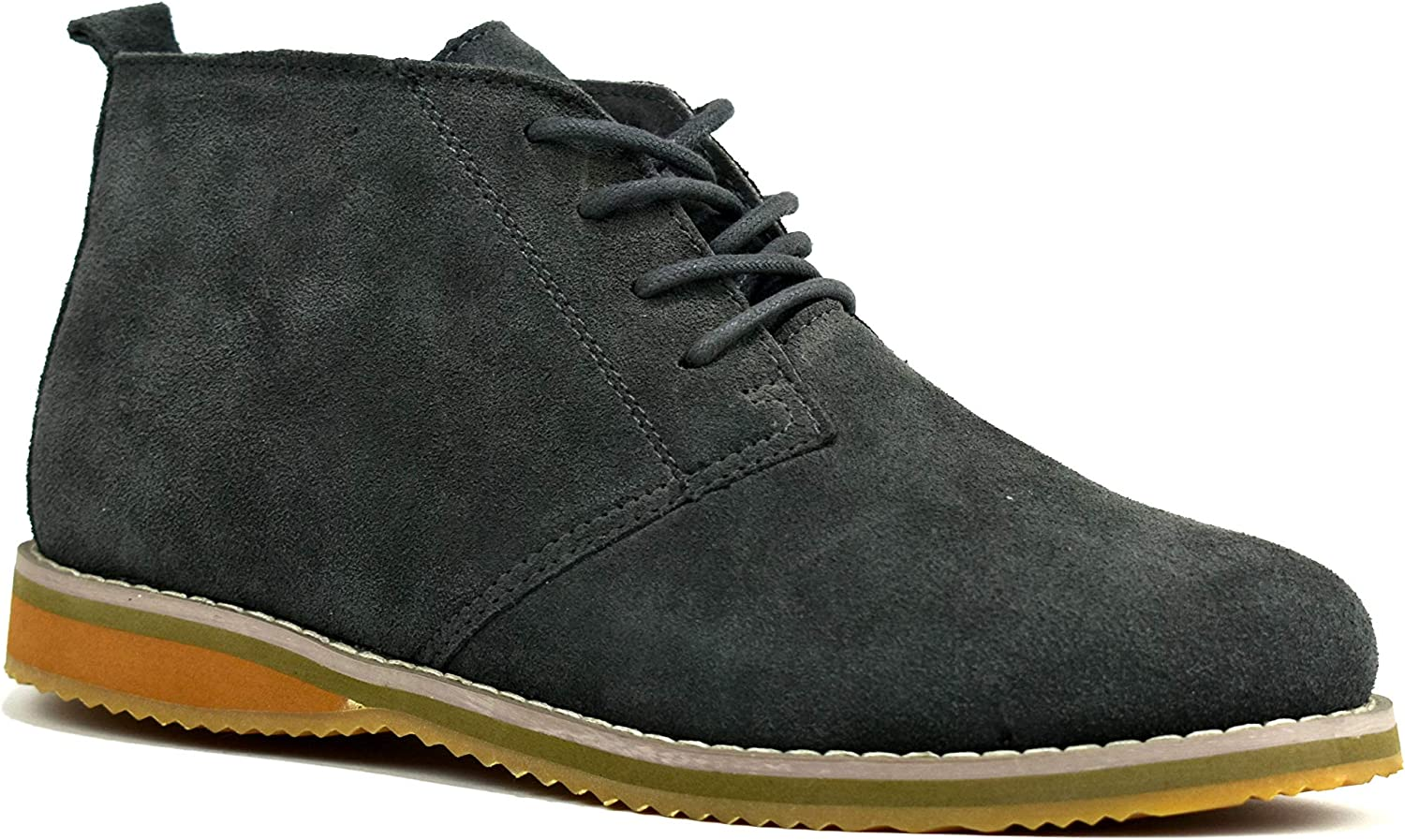 Mens Fashion Lace Up Suede Leather Desert Boots UK Size 6-11