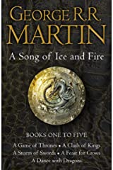 A Game of Thrones: The Story Continues Books 1-5: The bestselling epic fantasy masterpiece that inspired the award-winning HBO TV series GAME OF THRONES (A Song of Ice and Fire) Kindle Edition