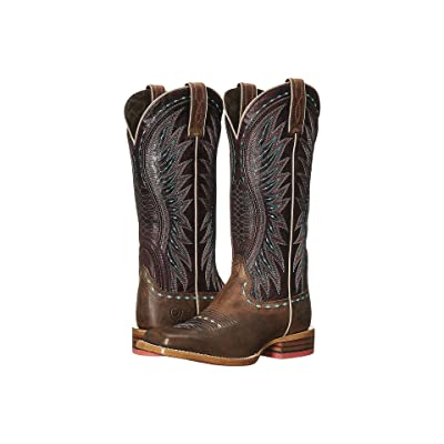 Ariat Vaquera (Khaki/Sunset Purple) Cowboy Boots