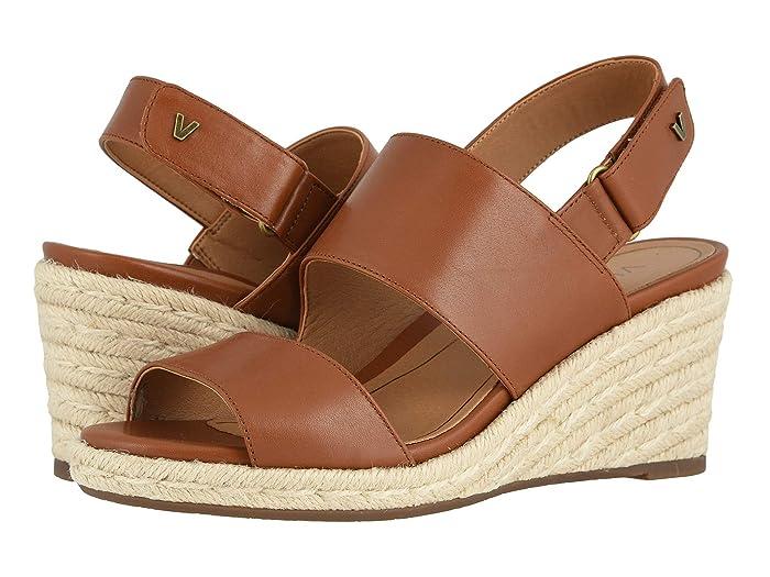 VIONIC  Brooke (Cognac Leather) Womens Shoes