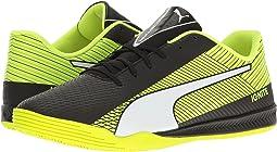 Puma Black/Puma White/Safety Yellow