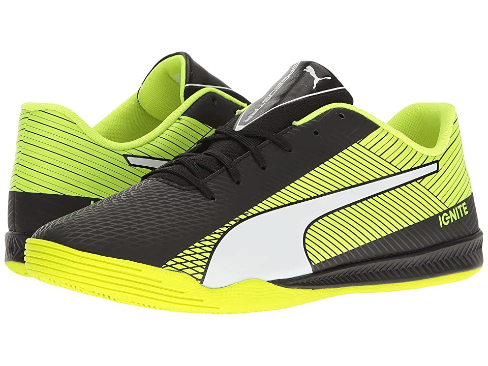 PUMA evoSPEED Star S Ignite (Puma Black/Puma White/Safety Yellow) Men