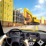 City Bus Construction Simulator Game Gratis para niños: transporte Mega City Excavator Crane Workers en Home Builder Adventure