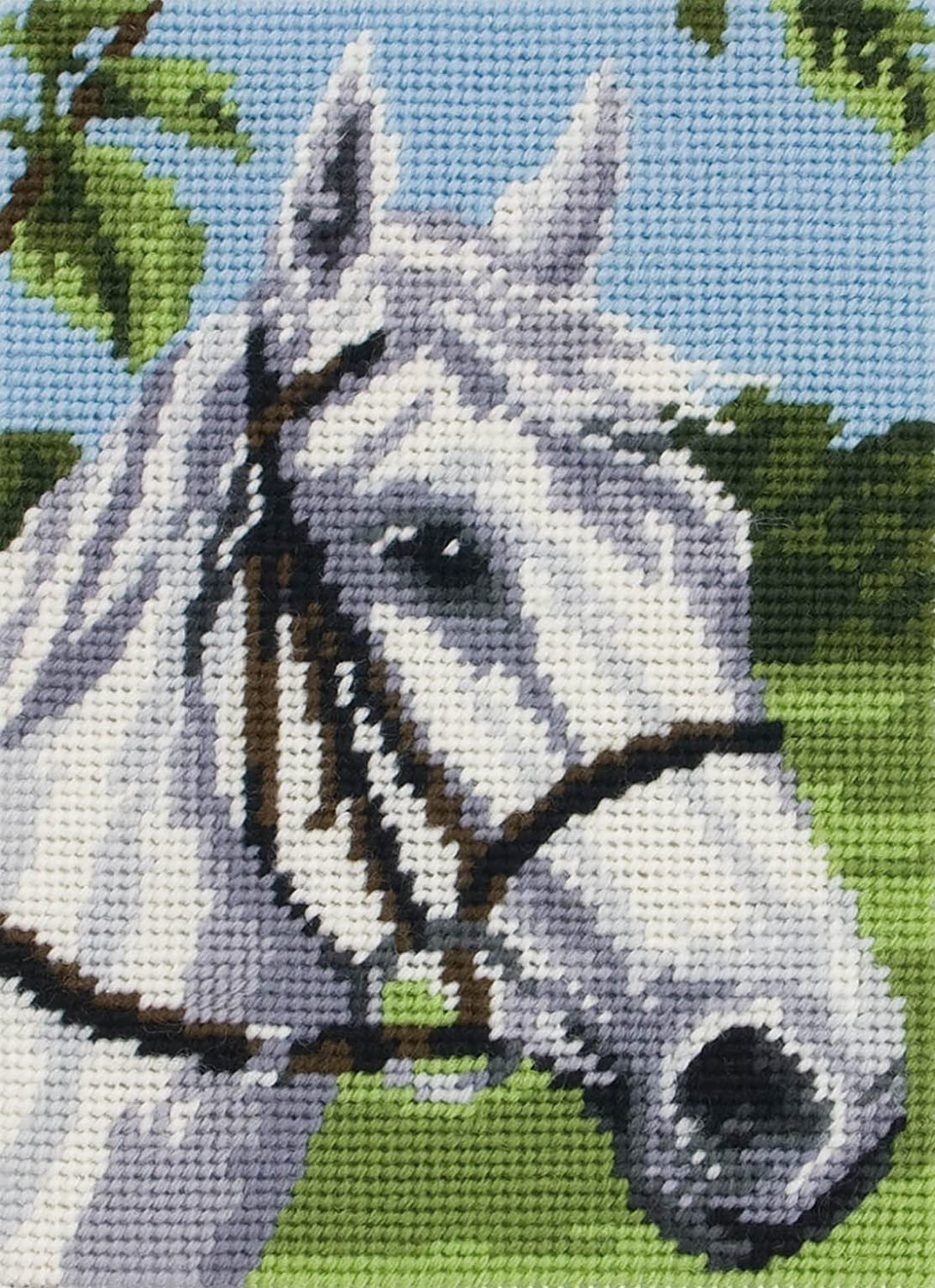 Horse - Limited Max 53% OFF price sale Beginner Needlepoint Kit