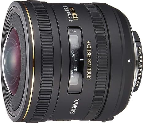 Sigma 4 5 Mm F2 8 Ex Dc Hsm Zirkular Fisheye Objektiv Kamera