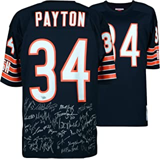 1985 Chicago Bears Team Signed Walter Payton Mitchell   Ness Authentic  Jersey - Fanatics Authentic Certified 66c432760
