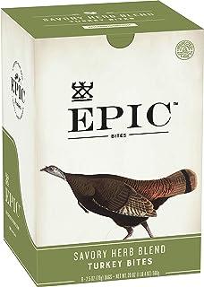 Epic Turkey Cranberry Sage Bites, Whole30, Paleo Friendly, 8 ct, 2.5 oz Pouches