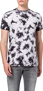 Urban Classics Black Tie Dye tee Camiseta para Hombre