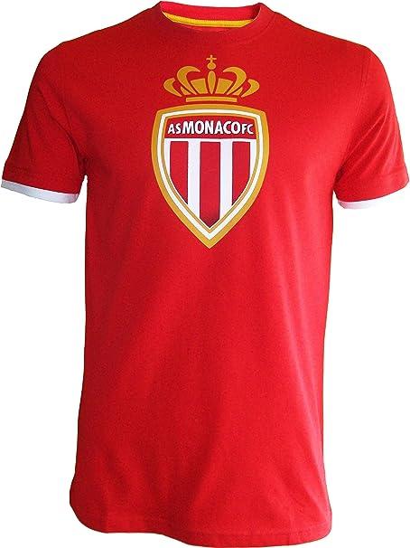 ASM - Maglietta collezione ufficiale AS MONACO, Football Club Ligue 1, misura da uomo adulto
