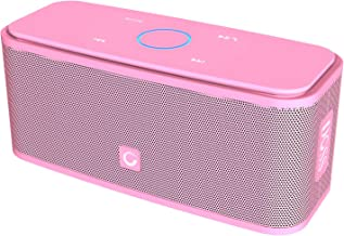 DOSS SoundBox Bluetooth Speaker, Portable Wireless Bluetooth 4.0 Touch Speakers with 12W HD Sound and Bold Bass, Handsfree, 12H Playtime for Phone, Tablet, TV, Gift Ideas[Pink]