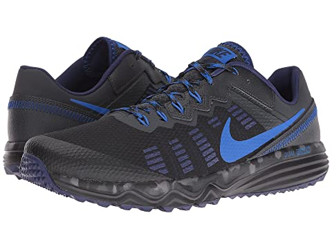 Famous Brand Nike Dual Fusion Trail 2 Men's Running Shoes Black Gray Volt