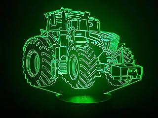 FENDT, Lampada illusione 3D con LED - 7 colori.