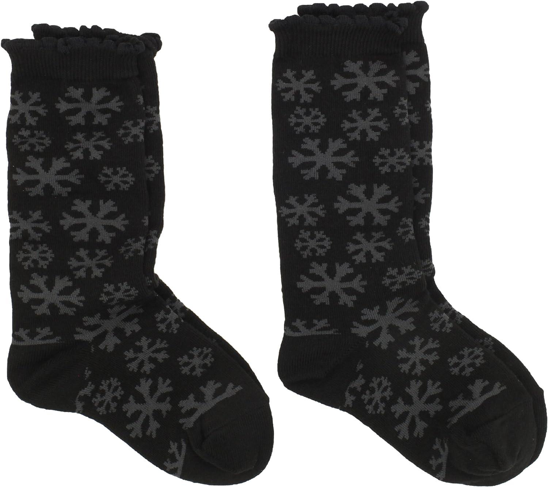 Jefferies Socks Little Girls' Snowflake Knee High Sock Pack (Pack of 2)