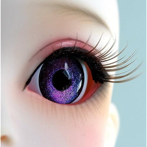 16mm Red Black Color Eyeballs For BJD AOD DOD Doll Dollfie Glass Eyes Outfit