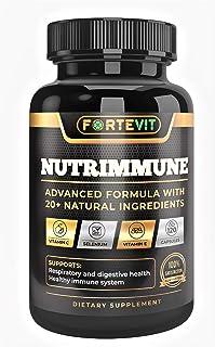 NUTRIMMUNE | Synergetic Immune Support Formula - Vitamin C, Vitamin E, Selenium - Graviola Leaf, Raspberry Fruit, Green Te...