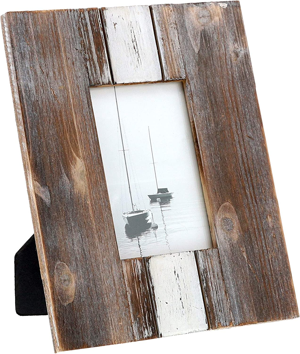Barnyard Designs Rustic Farmhouse Distressed Picture Frame - Unf