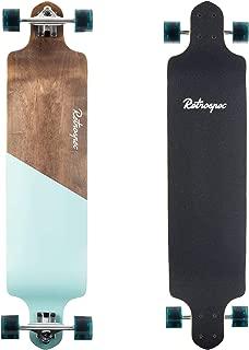 Retrospec Tidal 41-inch Drop-Down Longboard Skateboard