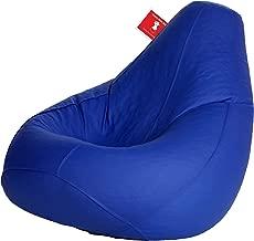 ComfyBean Bags XXXL Bean Bag Filled with Beans Filler (Blue)