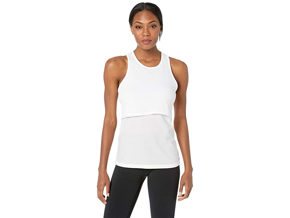 New Balance 247 Sport Layer Tank (White) Women
