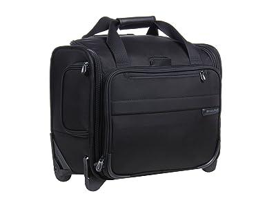 Briggs & Riley Baseline Rolling Cabin Bag (Black) Duffel Bags