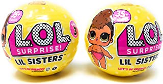 L.O.L Surprise Dolls - Series 3 - Lil Sisters Ball - Wave 1 - Pack of 2