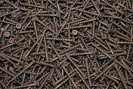 Torx T25 Star Flat Head 9 x 2-1//2 Deck Screw ACQ Lumber Wood Type 17 Bulk 2500