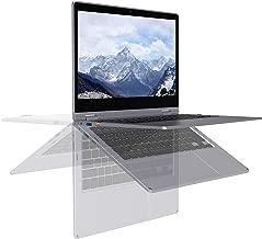 XIDU PhilBook Pro Touchscreen 2-in-1 Convertible Laptop, 11.6-Inch 2K (2560X1440) IPS Notebook, Intel Celeron J3355, 6GB DDR3, 128GB SSD, Windows 10 Home, Lightweight Metal Body, Star Gray