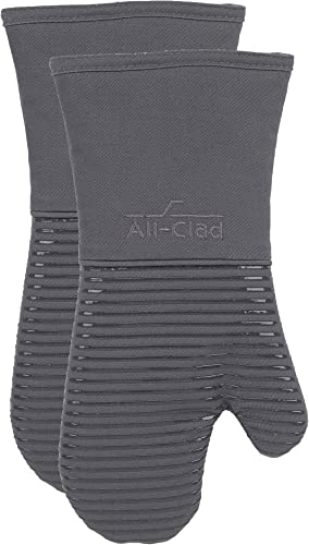 All-Clad-Textiles-Oven-Mitt,-2-Pack,-Pewter