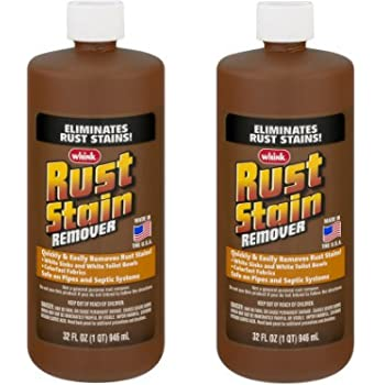 Whink Rust Stain Remover 32 Ounce - 2 Pack