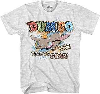 قميص ديزني كلاسيكي Dumbo للرجال - قميص Dumbo The Elephant - قميص Dumbo Graphic