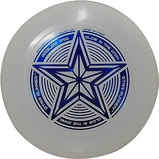 INGEAR Start Runner Glow in The Dark Ultimate Frisbee Disc 175 Grams Disc Golf Disc