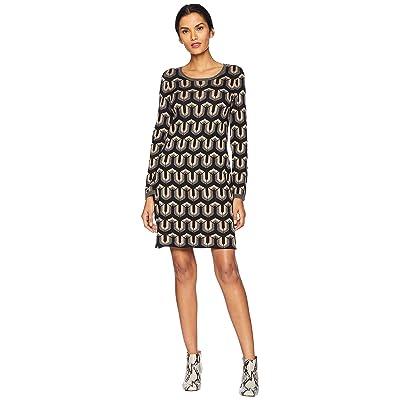 Hatley Abigail Sweater Dress (Black) Women