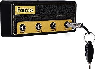 Friedman Jack Rack Guitar Amp Key Holder   Hang Your Keys Like A Rockstar   By Pluginz Key Chains (BE-100 & 4 Key Rings)