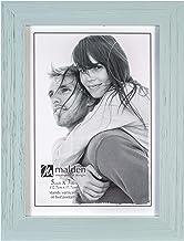 Malden International Designs Linear Picture Frame, 5x7, SEAFOAM BLUE