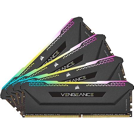 Corsair Vengeance RGB Pro SL 32 Go (4x8 Go) DDR4 3600 (PC4-28800) C18 1.35V