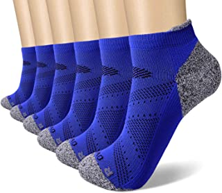 SWOLF Low Cut Athletic Tab Socks for Women & Men, Performance Comfort Breathable Cushioned Running Sports Workout Socks
