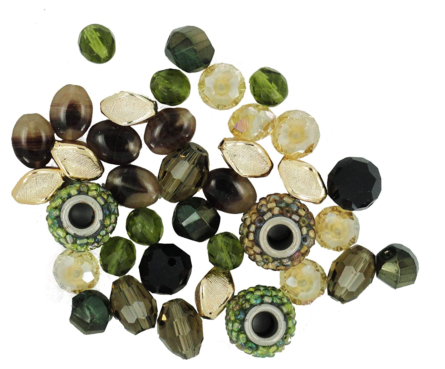 Jesse James Beads 5905 Design Elements Baroque, Green