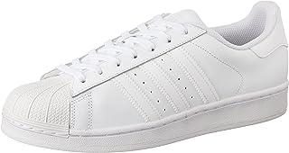 Adidas Superstar Foundation Sneaker For Men White 38 EU (B27136_Ftwr White/Ftwr White/Ftwr White)