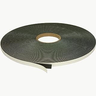 J.V. Converting SCF-02/BLK012505 JVCC SCF-02 Single Coated PVC Foam Tape: 1/8