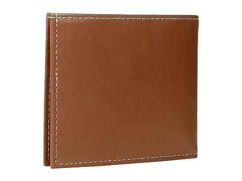 cuero billetera Polo marrón becerro Ralph Lauren ppATR
