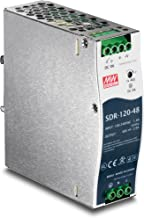 TRENDnet 120 W Single Output Industrial DIN-Rail Power Supply, TI-S12048, Extreme -25 to 70 �C (-13 to 158 �F) Operating Temp, UL 508 Approved, Power Supply 120W, DIN-Rail Mount, Overload Protection