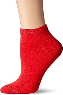 Women's Pima Cotton Ankle Zone Sock Cherry, 9-11