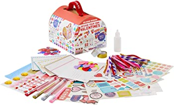 Kid Made Modern Design Your Own Valentines Craft Kit (Makes 24 Cards)