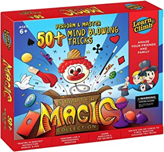 Learn & Climb Magic kit Set for Kids – 50+ Magic Tricks. Clear Instruction..