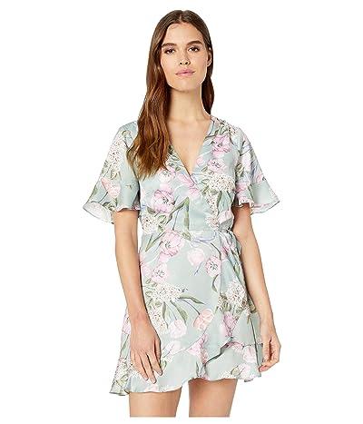 Show Me Your Mumu Evelyn Mini Wrap Dress (Primavera Floral) Women