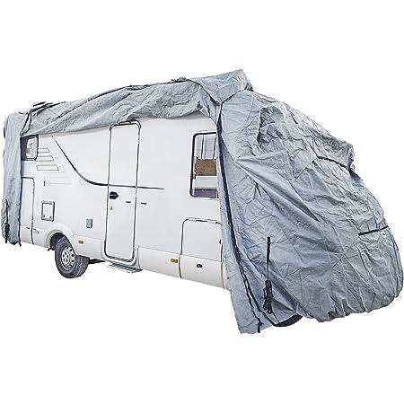 Protecteur universel de couverture de remorquage avant de caravane protecteur de caravane en tissu Oxford garde de bouclier antigel /étanche avec 2 lumi/ères LED